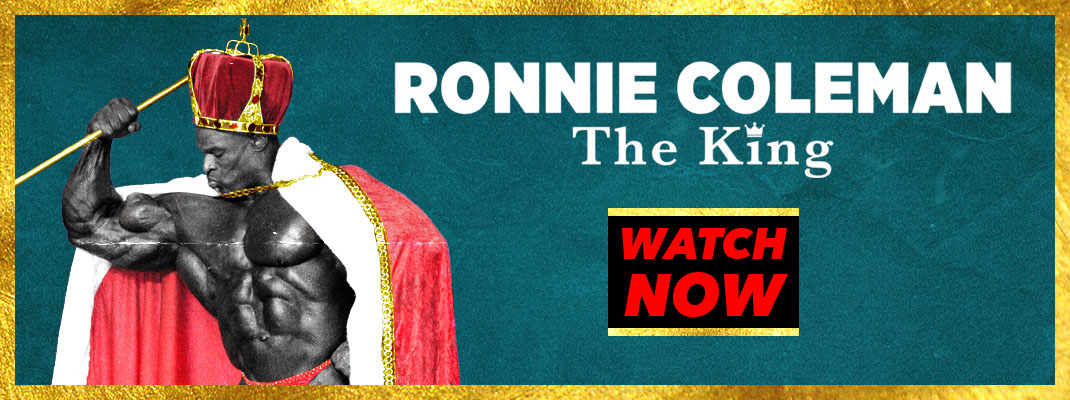 Ronnie Coleman The King Watch Now Generation Iron