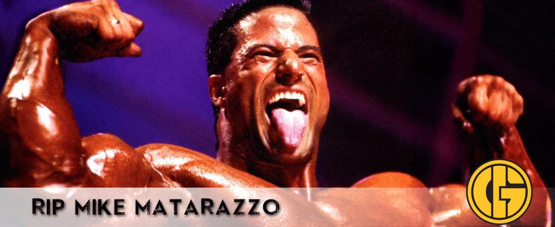 R.I.P. Mike Matarazzo (1965-2014)   Generation Iron Official
