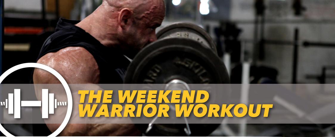 Generation Iron Branch Warren Weekend Workout