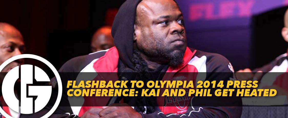 Generation Iron Press Conference Kai vs Phil
