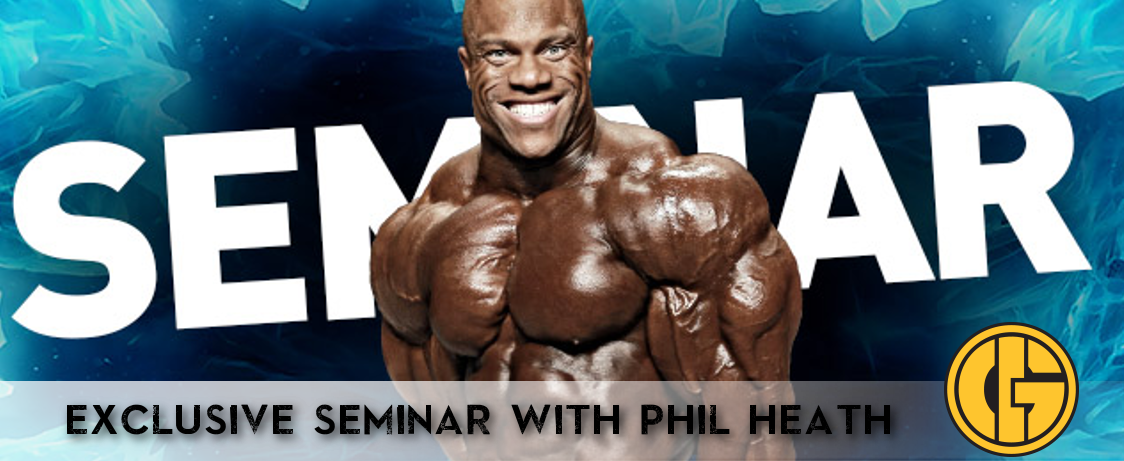 Generation Iron Phil Heath Seminar