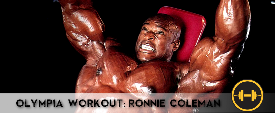 Olympia Workout Ronnie Coleman Generation Iron Fitness Bodybuilding Network