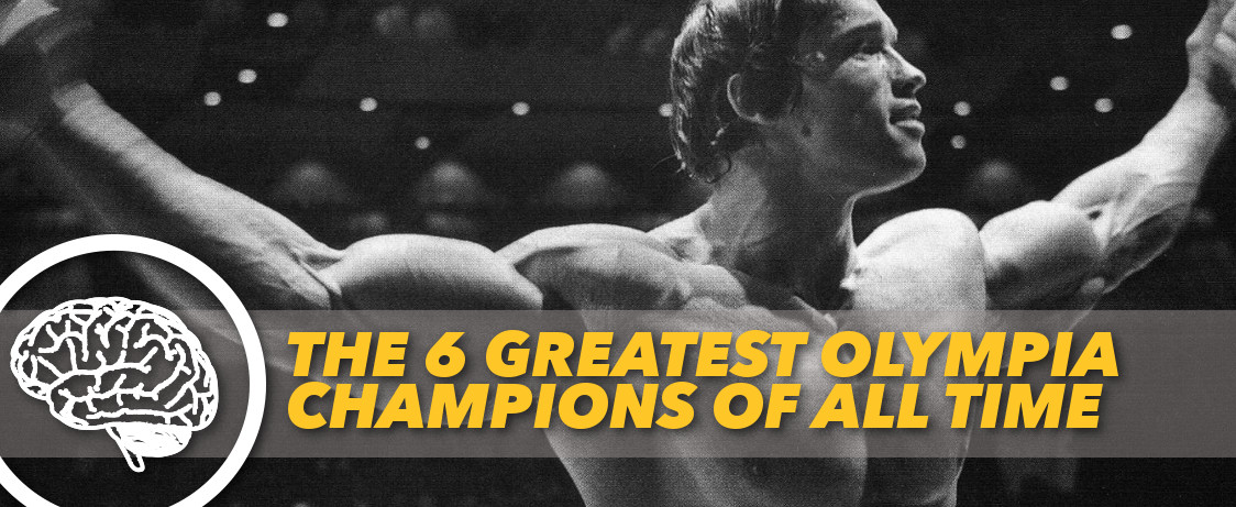 Generation Iron Greatest Olympia Champions