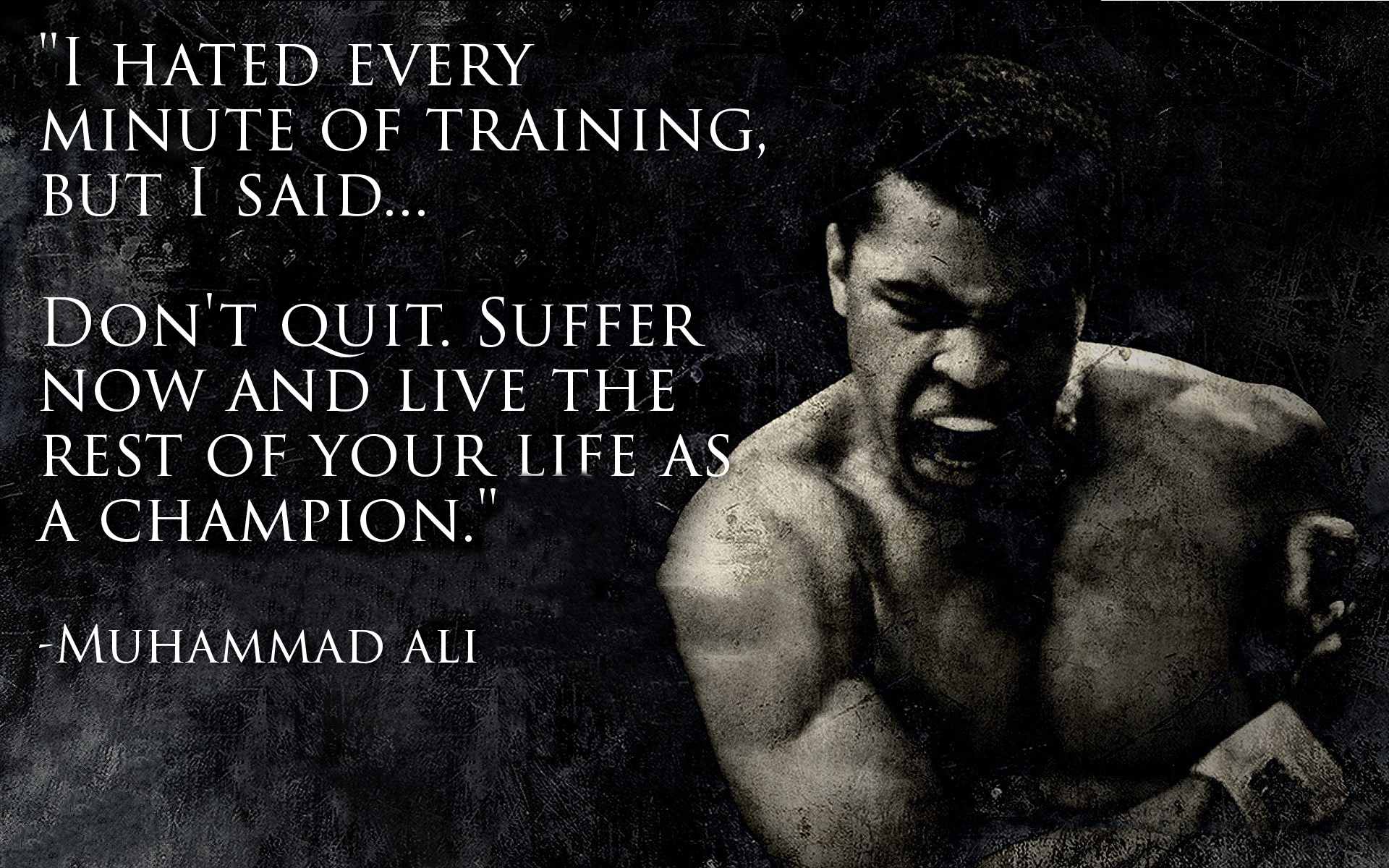 Top 10 Muhammad Ali Quotes QuotesGram