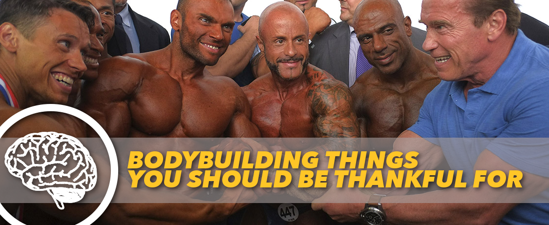 Generation Iron Bodybuilding Thankful