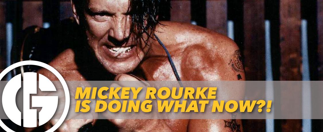 Generation Iron Mickey Rourke Boxing