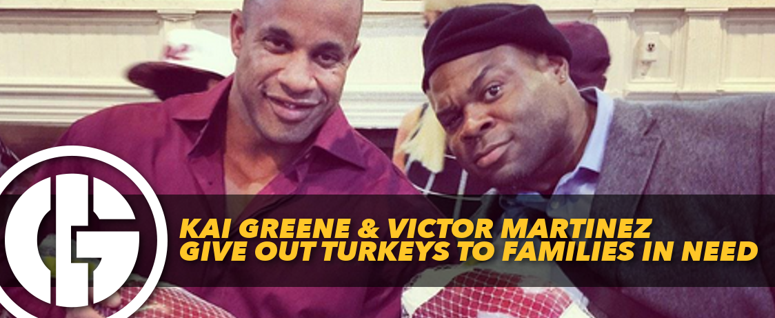 Generation Iron Kai Greene & Victor Martinez Turkeys