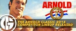 Generation Iron Arnold Classic 2015 lineup