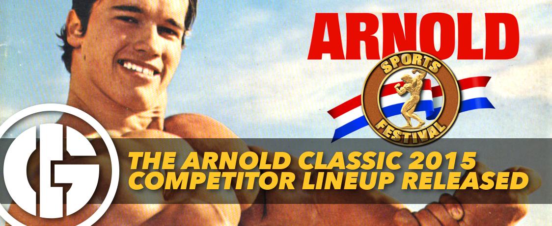 Generation Iron Arnold Classic 2015 lineup
