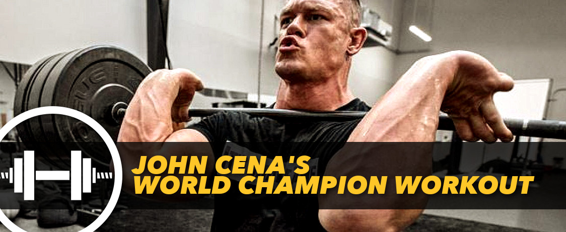 John cena 39 s world champion workout generation iron - John cena gym image ...