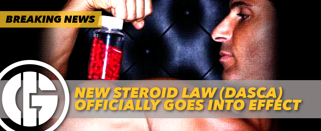 Generation Iron Steroid Law Officially In Effect