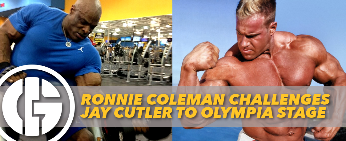 Generation Iron Ronnie Coleman Challenges Jay Cutler