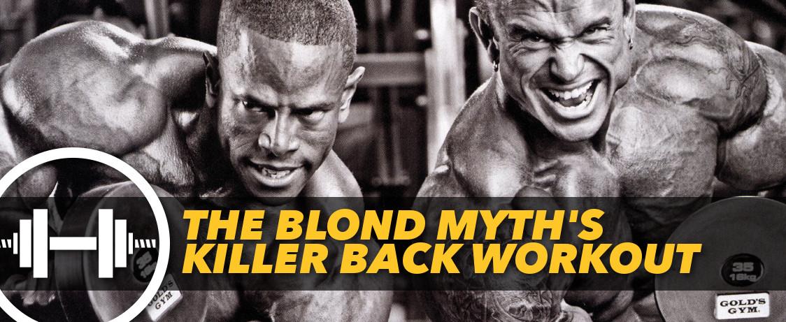 Generation Iron Blond Myth Lee Priest Workout