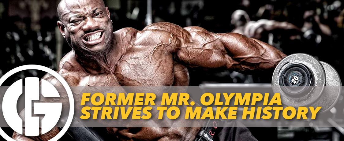 Generation Iron Dexter Jackson Mr. Olympia History