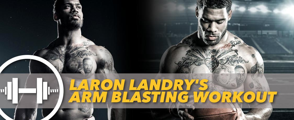 Generation Iron Laron Landry Workout