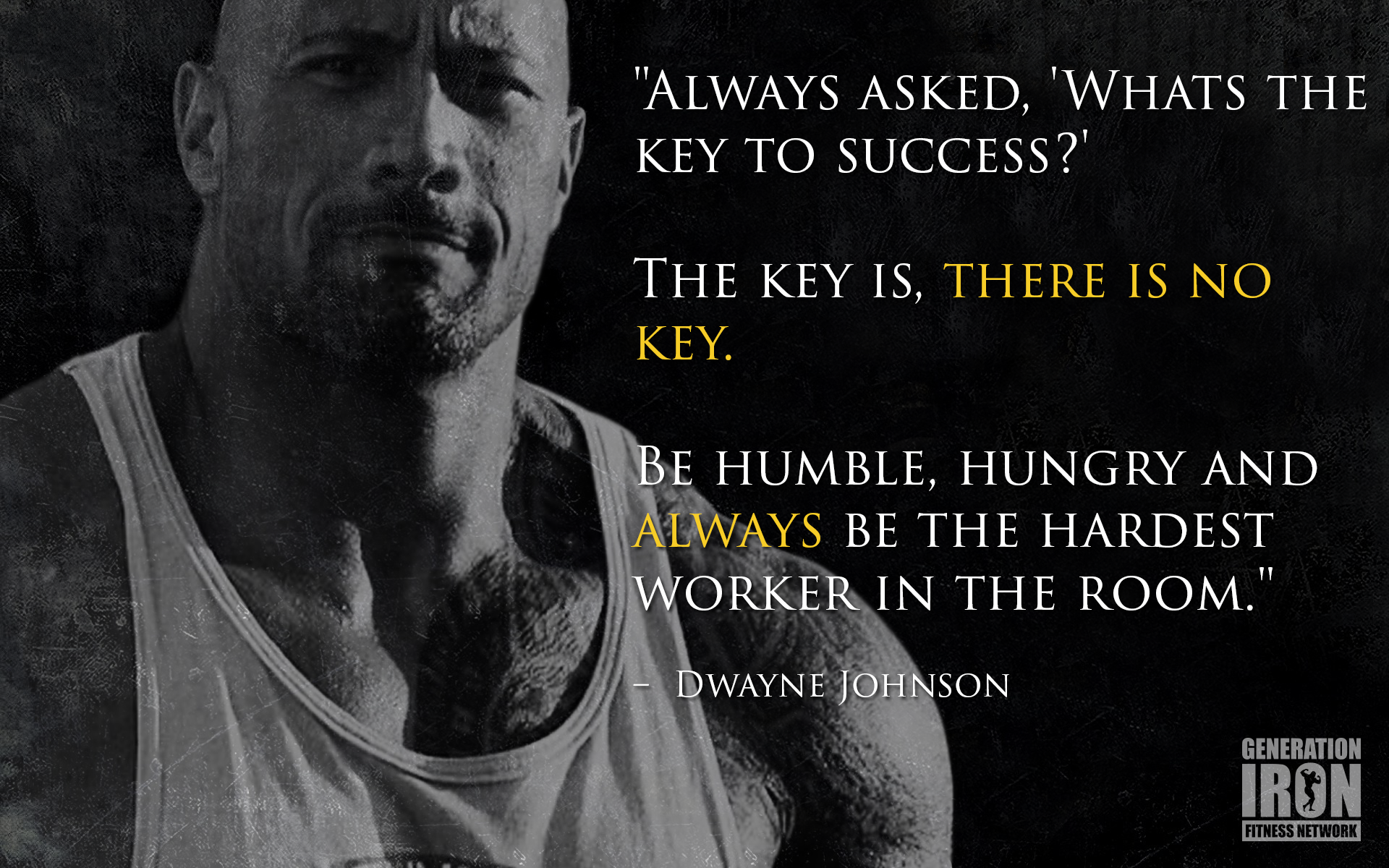 the rock quote wallpaper - photo #7