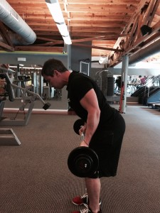 Generation Iron Leaning Bicep Curl