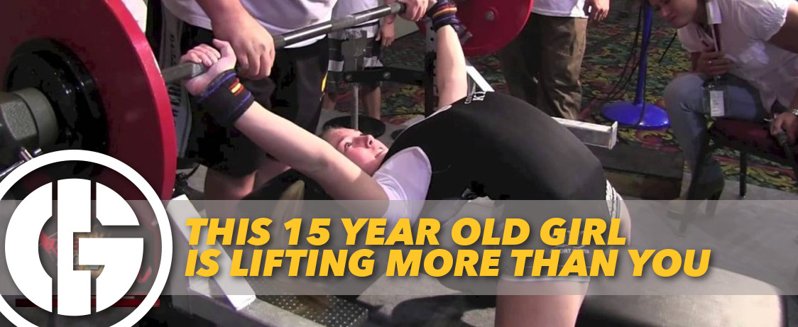 This 15 Year Old Girl is Lifting More Than You   Generation Iron