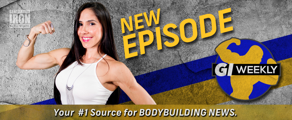 Generation Iron GI Weekly Guest Posing