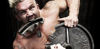 Bodybuilder Fats Eating Weights Generation Iron