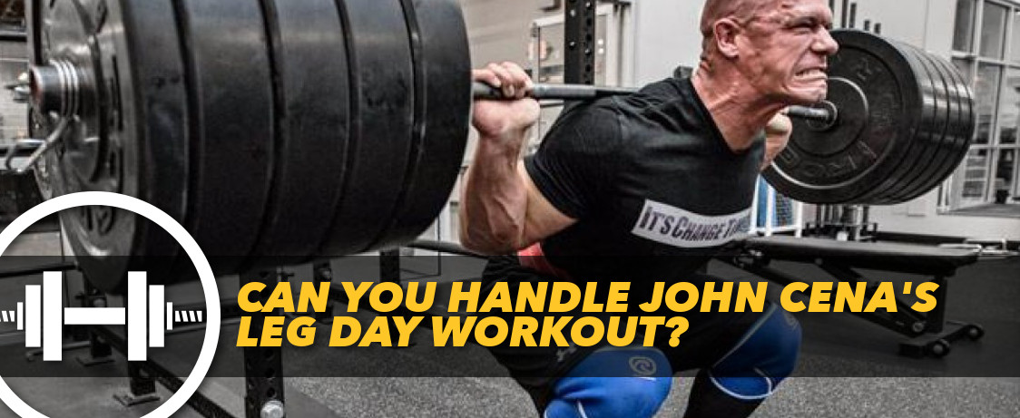 Can you handle john cena 39 s leg day workout generation iron - John cena gym image ...