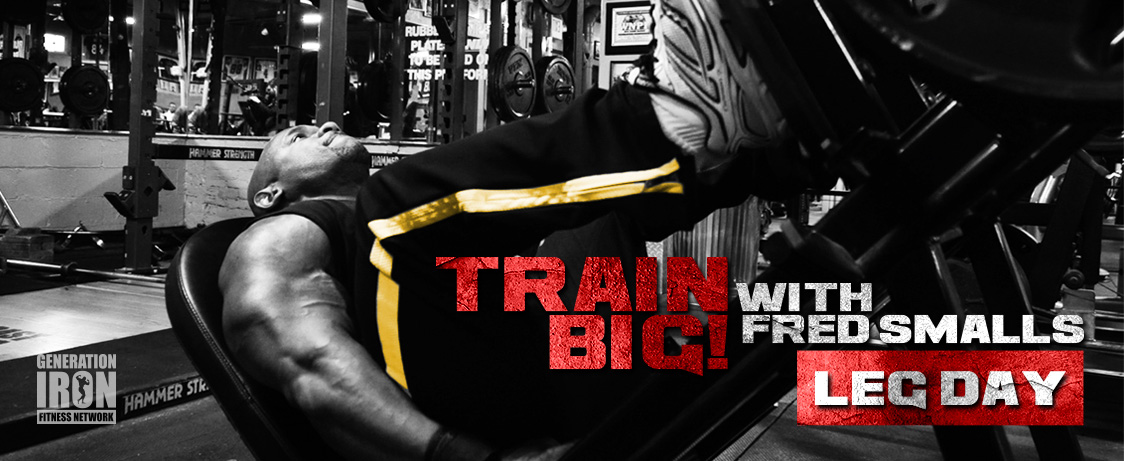 Generation Iron Train Big Leg Day
