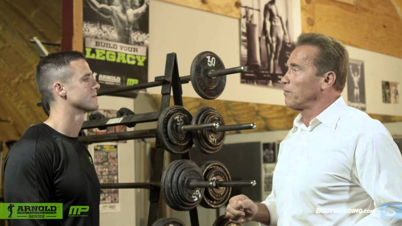 New interview arnolds blueprint to getting shredded generation iron malvernweather Images