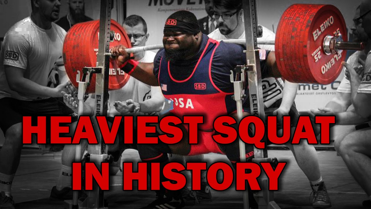 RAY WILLIAMS SHATTERS WORLD RECORD BY SQUATTING 938 POUNDS
