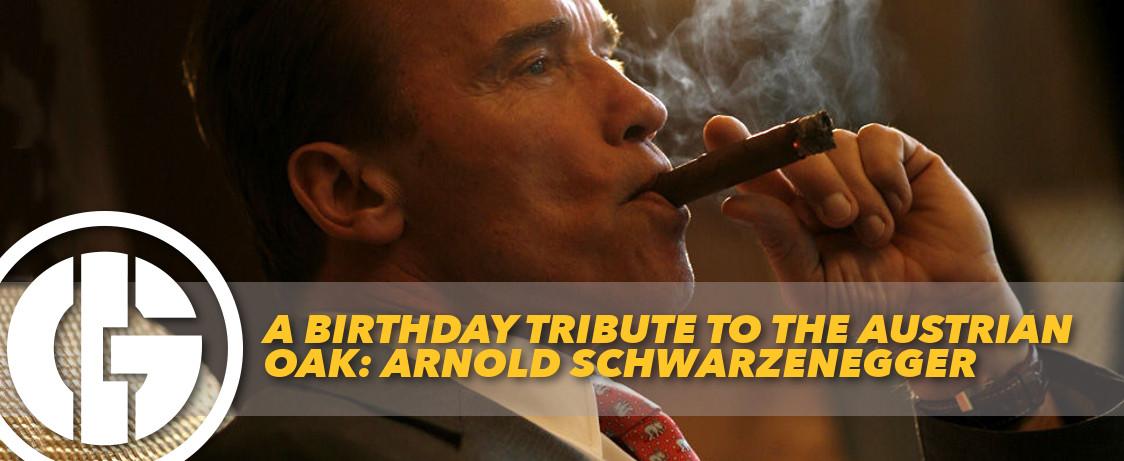 Generation Iron Arnold Schwarzenegger Birthday Tribute