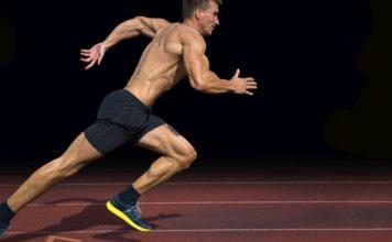 Bodybuilder Running Generation Iron