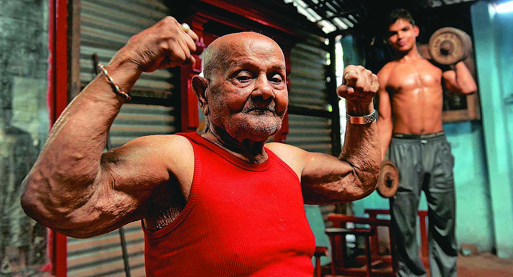 Generation Iron 100 Year Old Bodybuilder