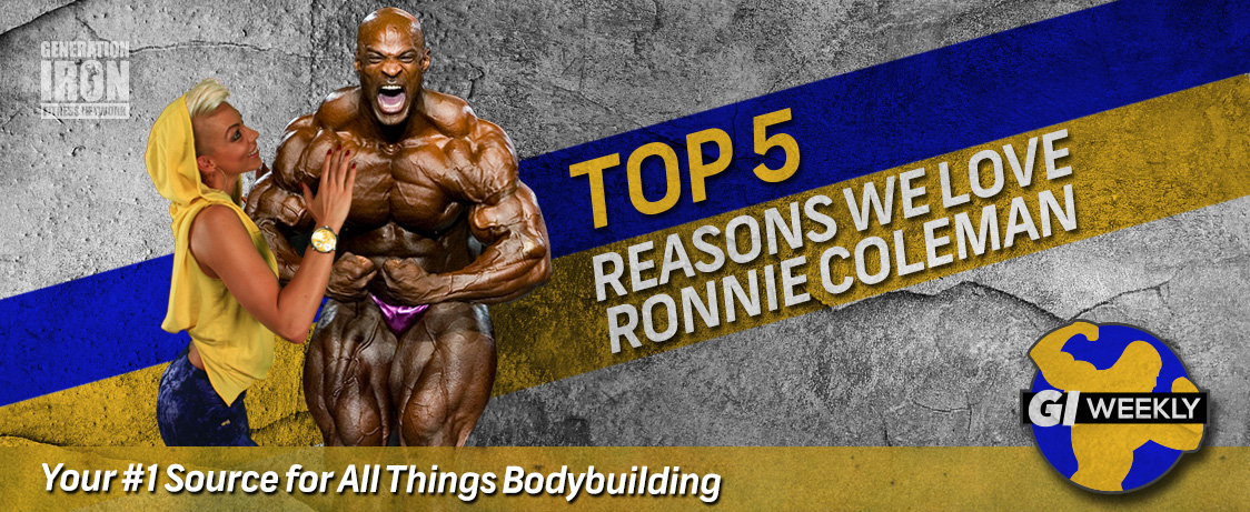 Generation Iron Top 5 Ronnie Coleman