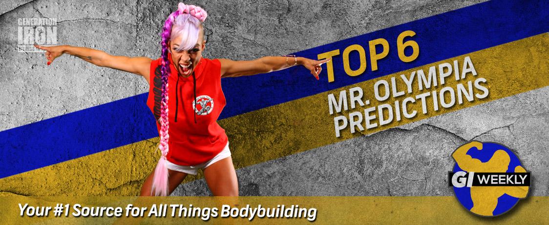 Generation Iron Mr. Olympia 2015 Predictions