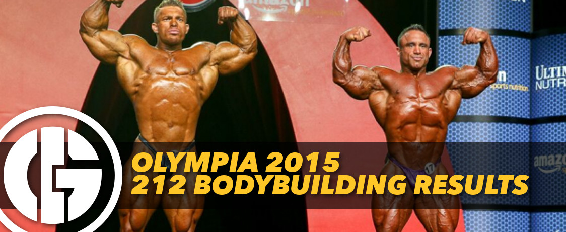 Olympia 2015 212 Bodybuilding Results Generation Iron