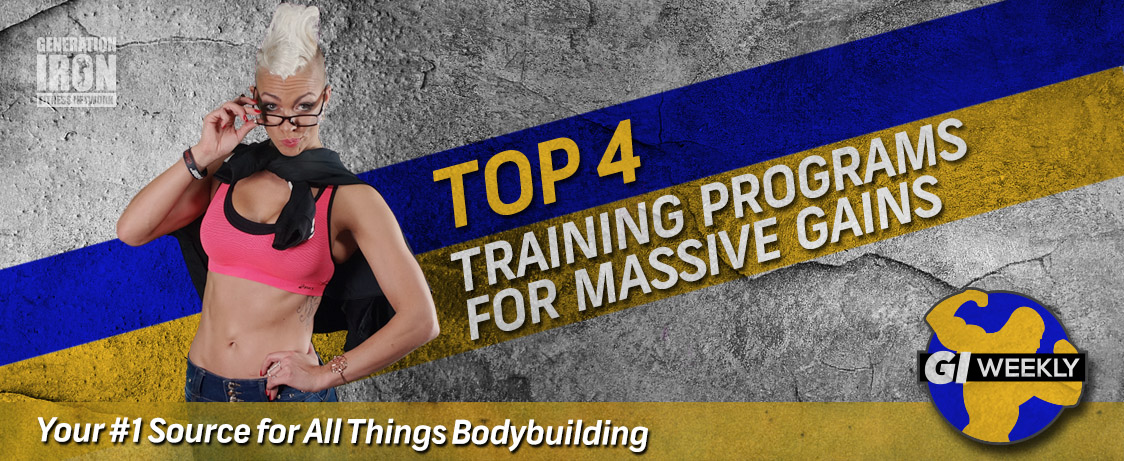 Generation Iron Bodybuilding Training Programs