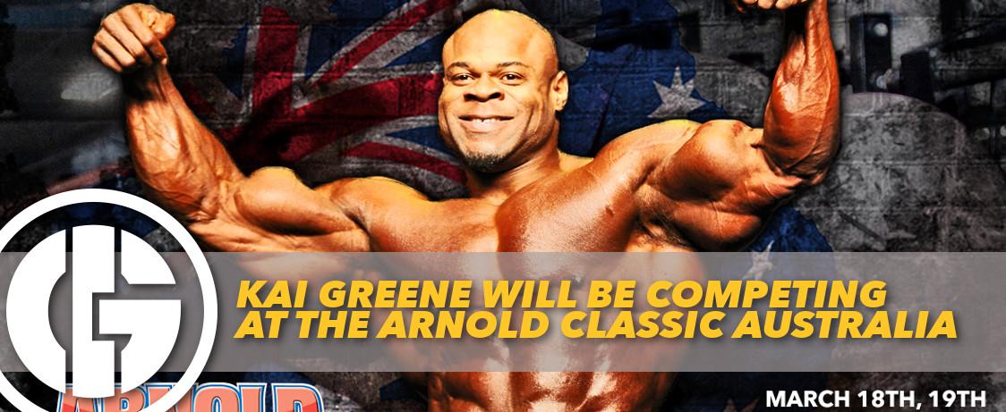 Generation Iron Arnold Classic Australia Kai Greene
