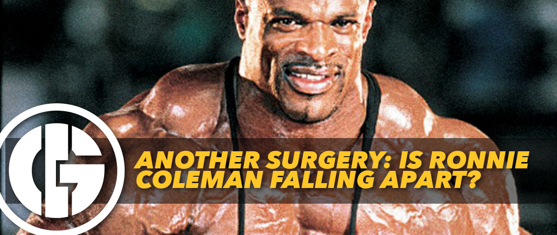 Generation Iron Ronnie Coleman Surgery