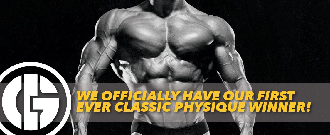 Generation Iron Classic Physique Winner