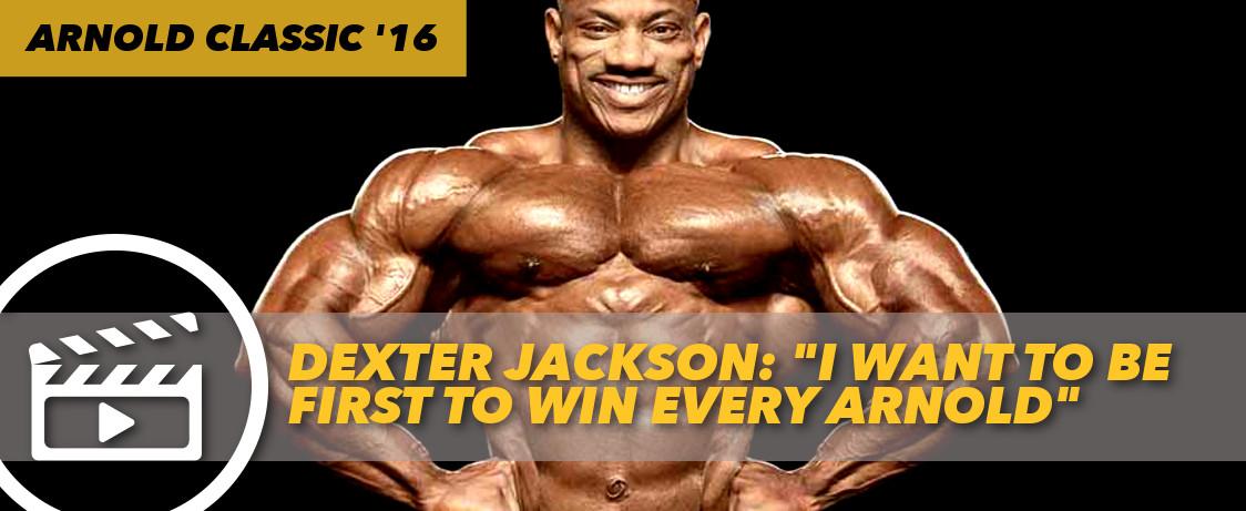 Generation Iron Dexter Jackson 2016 Arnold Classic