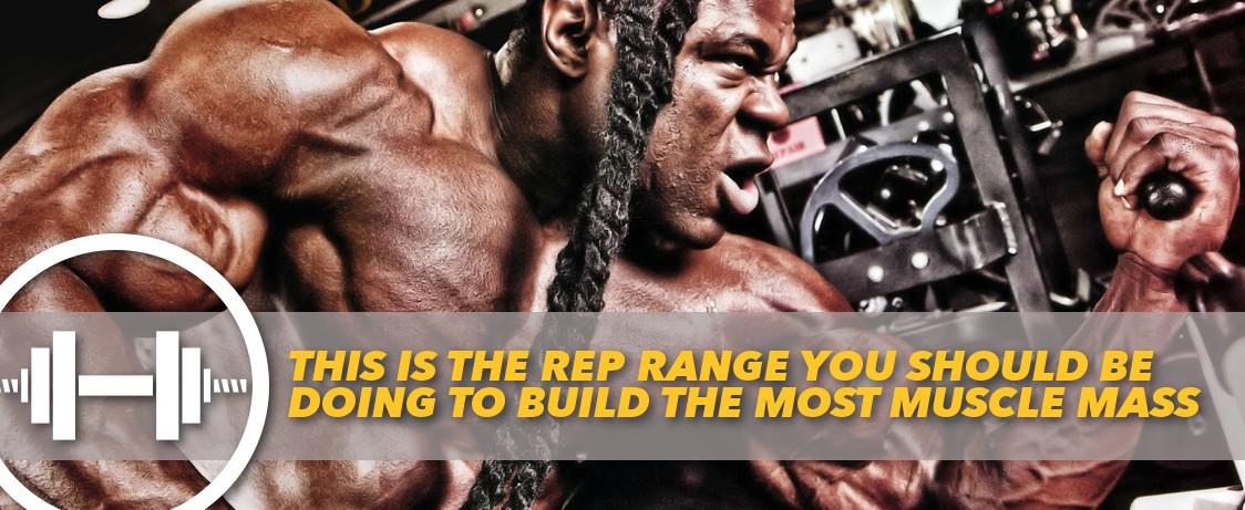 Generation Iron Rep Range Mass muscle