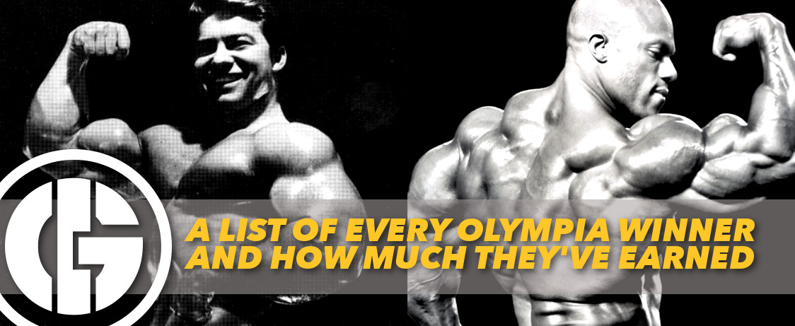 Here's A List Of Every Mr  Olympia Winner And How Much They
