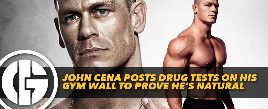 Generation Iron John Cena Drug Tests