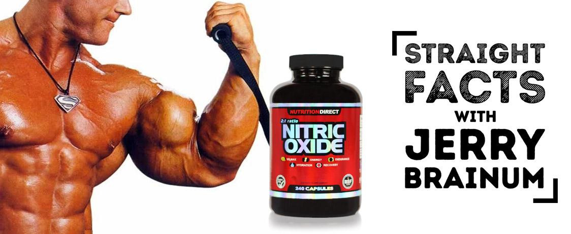 Nitric Oxide Damage Body Before Workout Jerry Brainum on Generation Iron