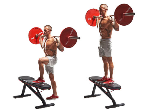 barbell-step-up