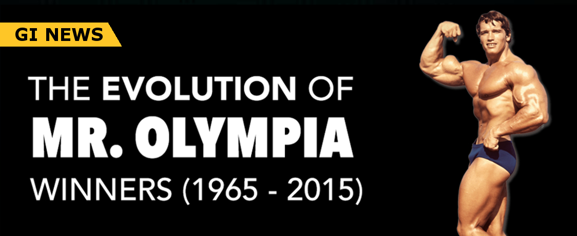 THE EVOLUTION OF ALL THE MR  OLYMPIA CHAMPIONS EVER