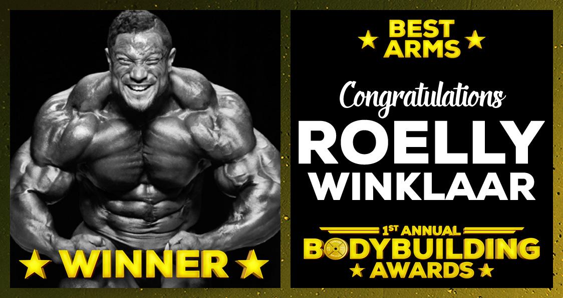 Best Arms 2016 Roelly Winklaar Bodybuilding Awards Generation Iron