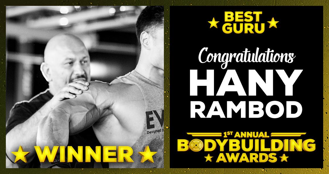 Best Guru Hany Rambod Bodybuilding Awards Generation Iron