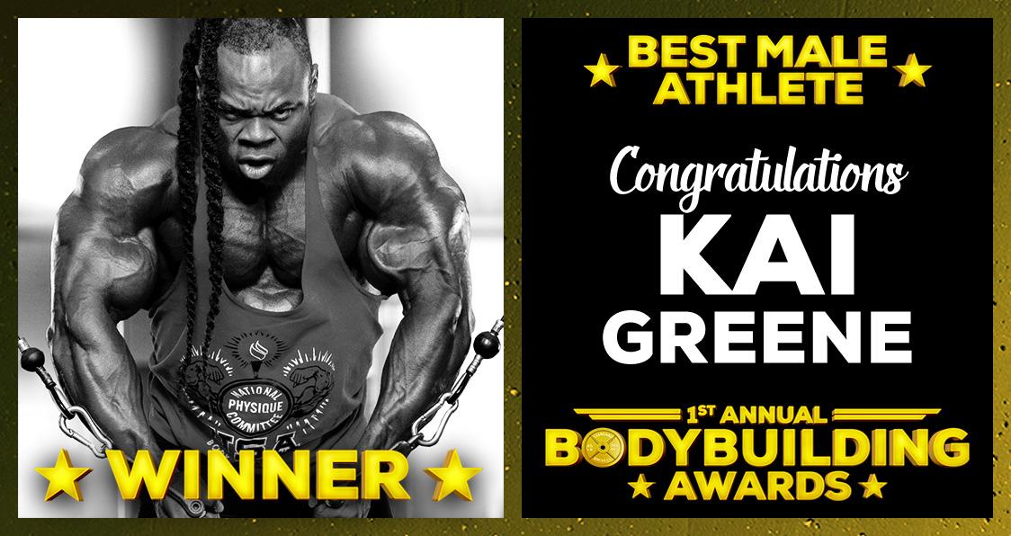 Kai Greene Athlete Of The Year Bodybuilding Awards Generation Iron