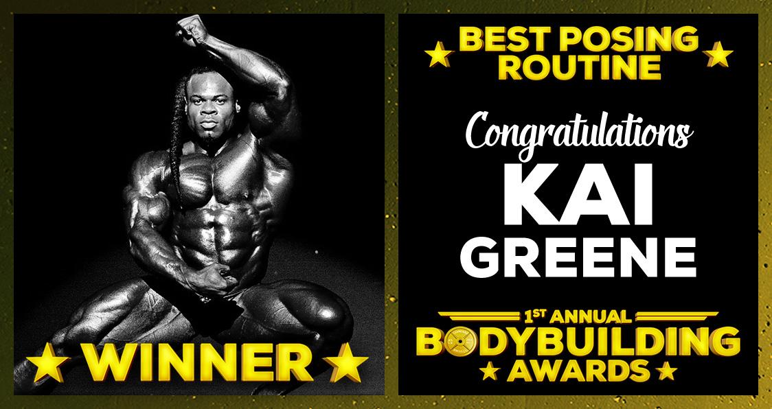 Kai Greene Best Posing Routine Bodybuilding Awards Generation Iron