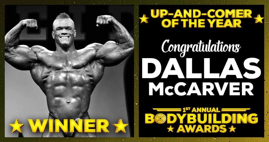 Dallas McCarver 2016 bodybuilding Awards Generation Iron